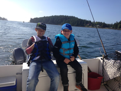 Family friendly fishing charters with Ucluelet Charters
